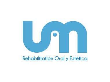 UM Rehabilitation y Estetica logo.