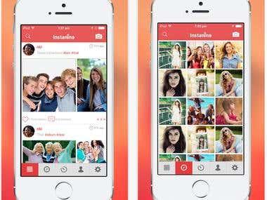 Instagram App Clone