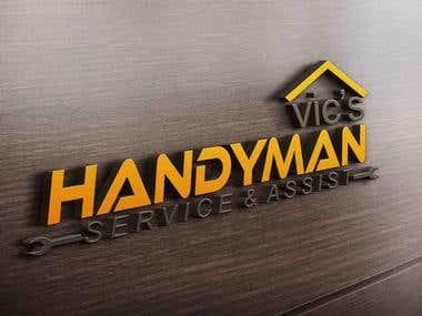 Handyman service Company Logo
