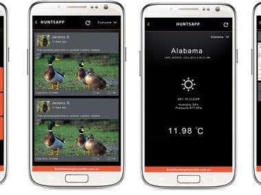 Hunt App
