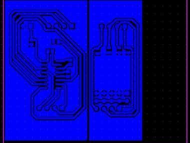 PCB Design RS 232