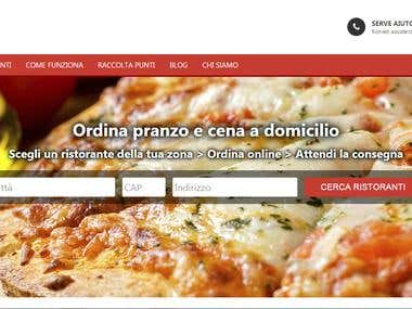 food order web application