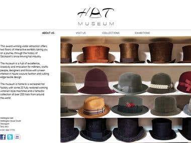 Hat Museum website