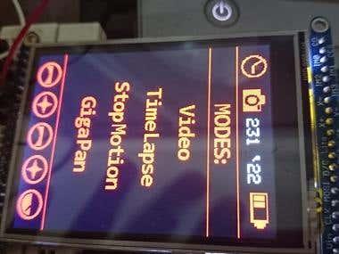 HosElectro LCD Menu System