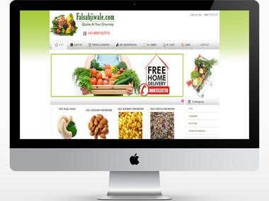 e-commerce website and app for vegetable fswale.com