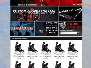 Prostock hockey Gear