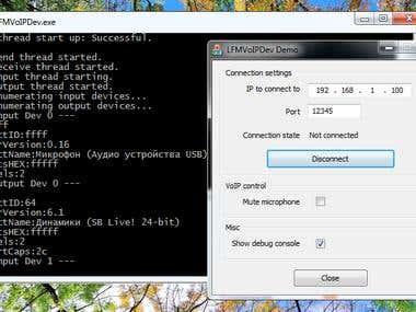 UDP/Speex based VoIP tool
