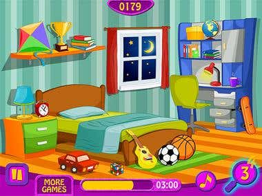 My Clean Room - Game Application
