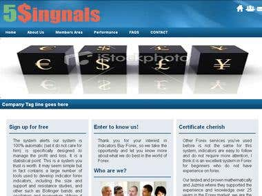 5Singnals - WordPress