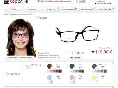 Top-Brille (German eyewear store)