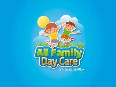 Diseño de Logo - All Family Day Care