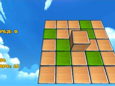 Rolling Cube - puzzle game