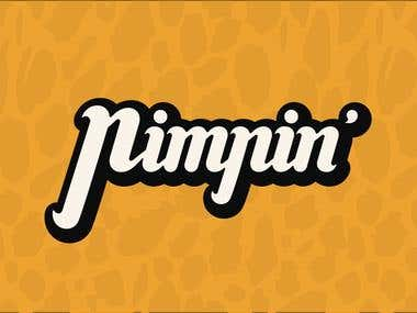 Pimpin - Logotype
