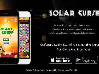 Solar Curse || Candy Crush Clone