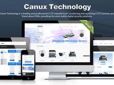 Canux Website
