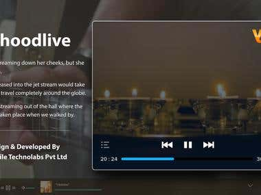 Live Streaming Website