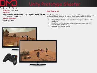Unity Prototype Shooter