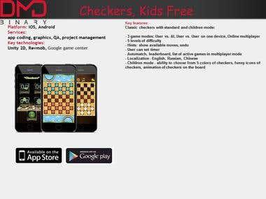 Checkers, Kids Free
