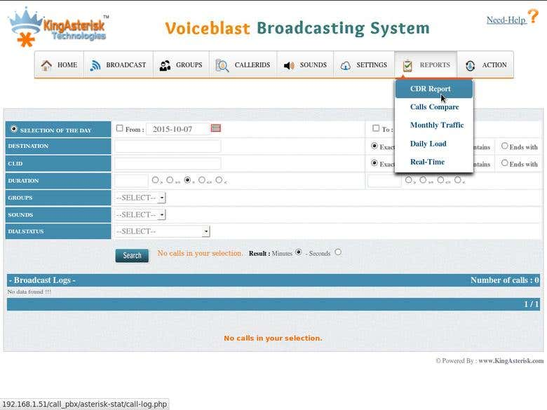 VoiceBroadcast Application   Freelancer