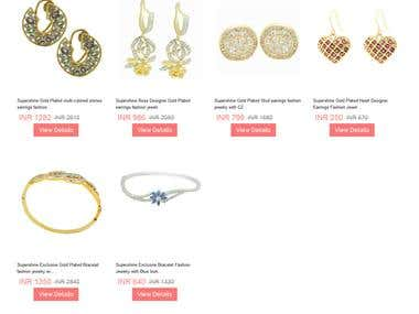 Jewellery SuperMart (Wordpress)