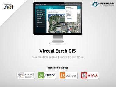 Virtual Earth GIS
