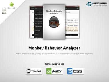 Monkey Behavior Analyzer