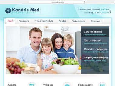 Web Design: Kandris Medical