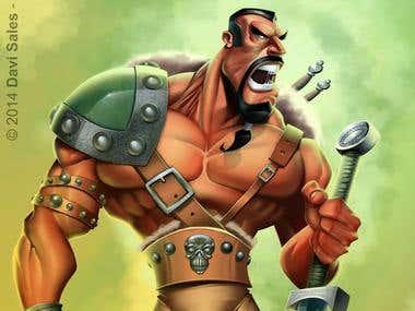 Barabarian warrior