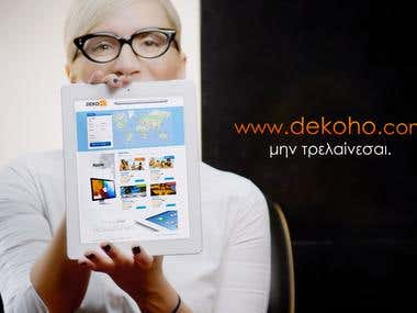 Video Production, Design & Editing: DEKOHO TV commercial