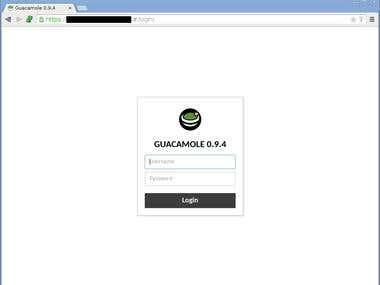 Guacamole clientless remote desktop gateway