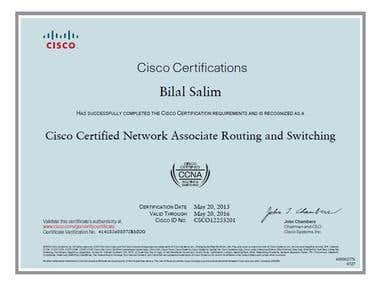 Cisco Certified Network Associate (Routing & Switching)