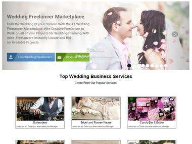 Go to Wedding (Web Design)