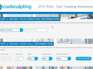Call Tracking Dashboard