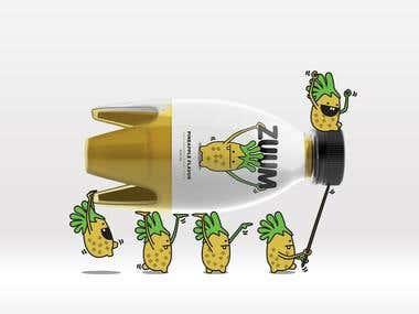 Kids juice packaging