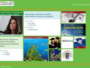 Pogled naprej - METRO style Responsive web site