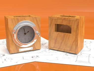 Clock Product Design