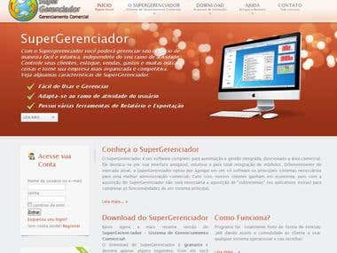 SuperGerenciador WebSite