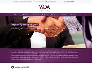 Diseño y programación de http://wdalegal.com