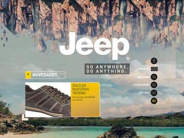 Website Tiendas Jeep