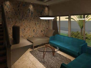 Row House\'s Interior Design.
