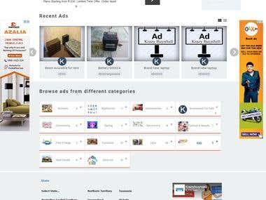 Online Classifieds Portal