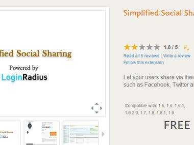 Social Share - Magento extension