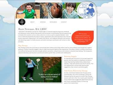 Play Therapy Website