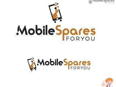 Mobile Spares For You Logo Design