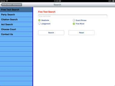 Legal Eagle iPad App
