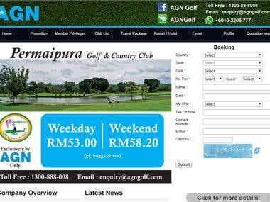 Agn Golf Singapore