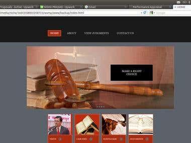 JUDGMENT INFORMATION SYSTEM FOR JUDGES