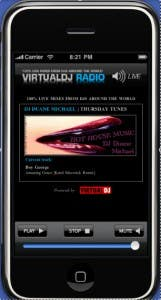 iPhone iPad Radio Application