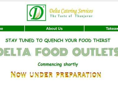 delta catering service