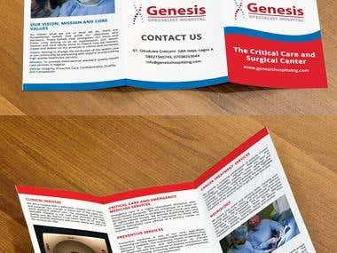 Print Brochure/ e-brochure